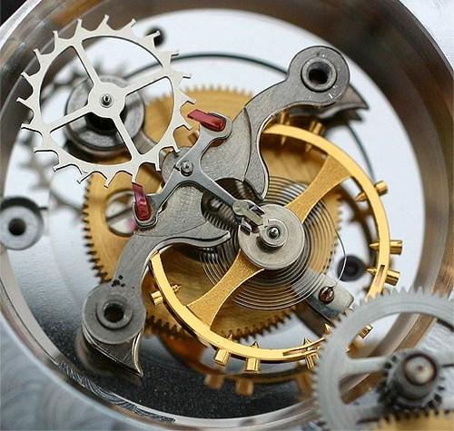 Простейший часовой механизм