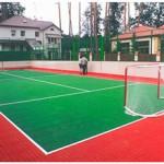 Покрытие спортивных площадок