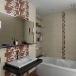 современный ремонт в ванной комнате