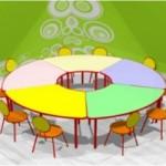 столы и стульчики в детский сад